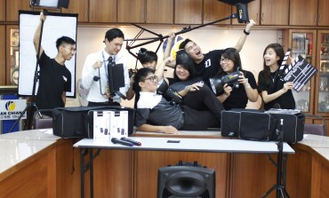 Students donate over RM6,000 worth of videography equipment to alma mater