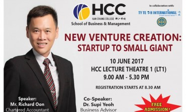 Talk on business startups