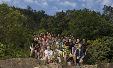English Society kicks-off activity with hiking