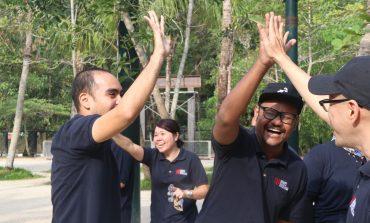 HCUC Team Building fosters great team spirit