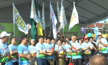 Han Chiang celebrates 100 Years with Torch Run