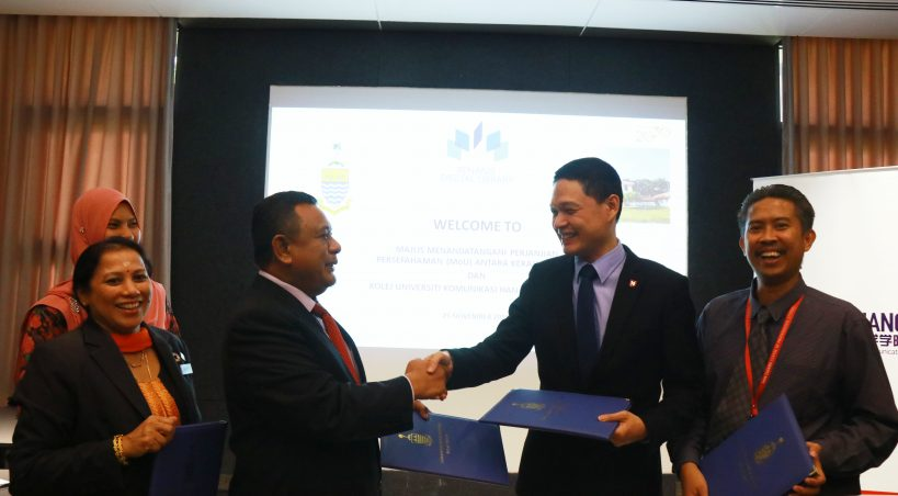 Forging Historic Alliance: HCUC signs MoU with Penang Digital Library