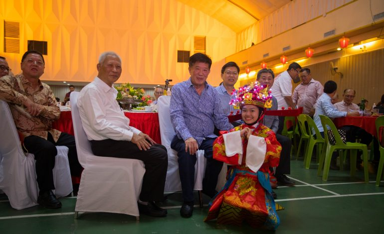 Han Chiang educational institutions came together to celebrate Chinese New Year Celebration cum Consolation Feast Dinner