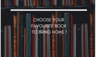 Choose your favourite book to bring home