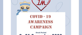 """""""1-Metre Apart"""" online campaign to raise awareness on Covid-19"""