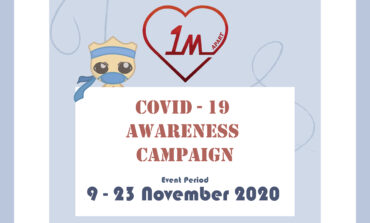 """1-Metre Apart"" online campaign to raise awareness on Covid-19"