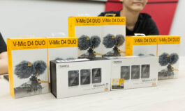 HCUC graduates donate shotgun microphones and wireless microphones worth more than RM3,000 to HCUC