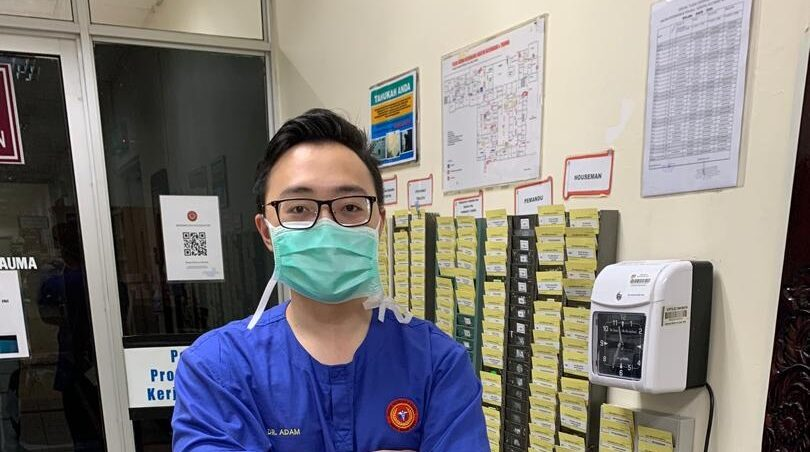 Serving as a healthcare worker during the Covid-19 pandemic