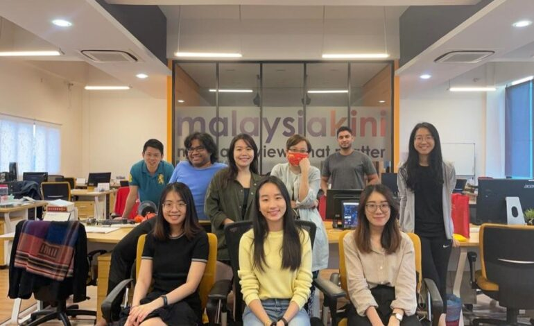 Interning from home with Malaysiakini