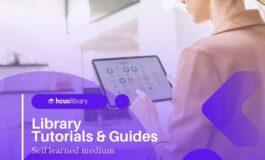 Self-learning tutorial to access academic resources by HCUC Library